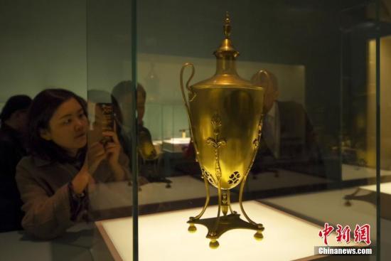 13国234件(套)文物精品亮相国博 串联千年丝路故事