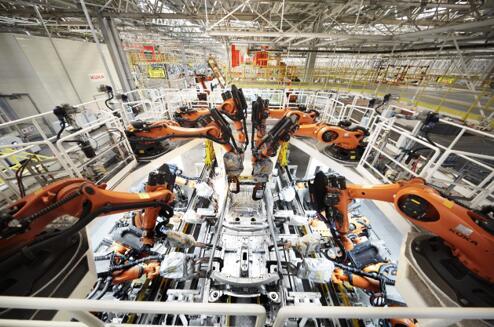 智能制造——宝沃全球首条8车型柔性生产线
