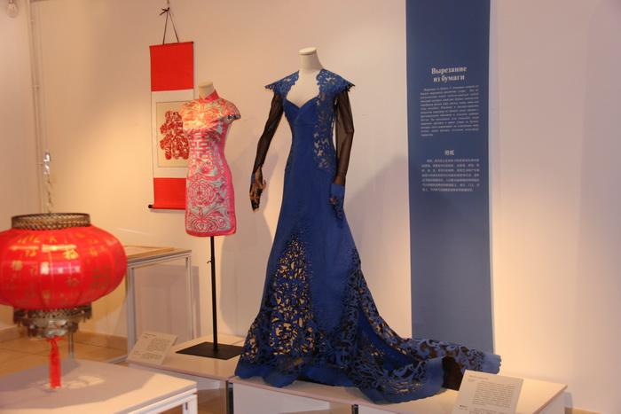 中国丝绸博物馆在莫斯?#24179;?#36848;中国非遗故事