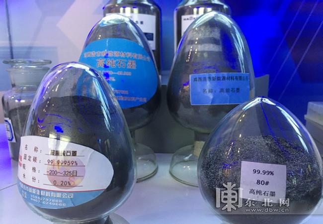 黑龍江雞西市石墨、生物醫藥等新興產業推動煤城轉型