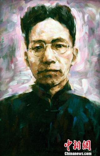 """百幅""""五四""""以来大师肖像油画在沪集中展出"""