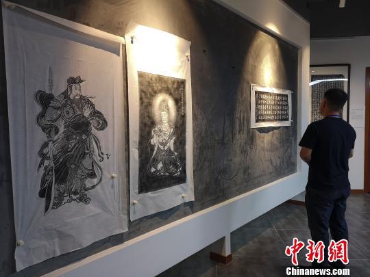 国内首家摩崖石刻拓片博物馆开馆 可欣赏历代名家书法