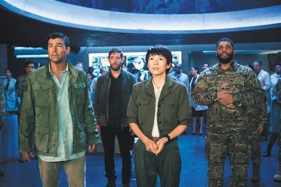 《哥斯拉2》中国元素亮眼