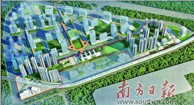 广州南站周边将建超58万平方米大型综合体