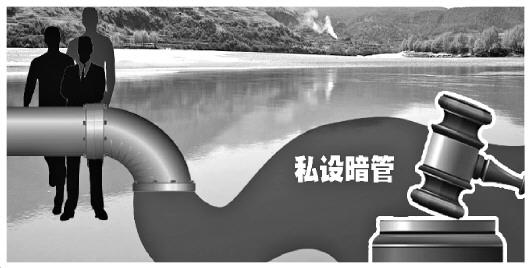 企业私设暗管向长江偷排生产废水