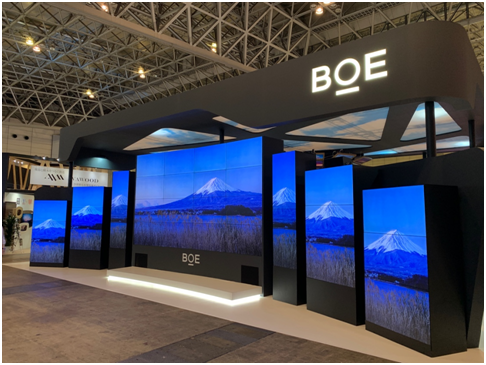 BOE(京東方)創新顯示解決方案亮相日本商用顯示展