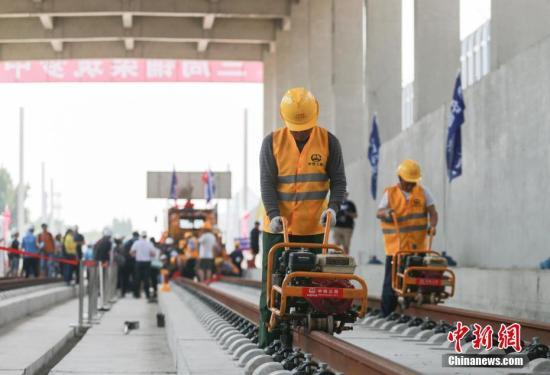"""京张高铁""""四电""""房屋主体工程完工"""