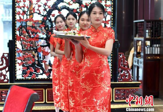 """廣州荔灣又擺""""紅云宴""""  起源于五代十國時期"""