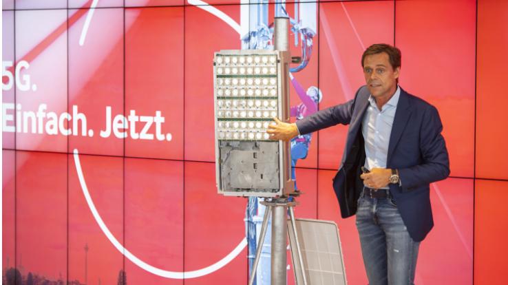 愛立信攜手沃達豐在德國推出5G商用網絡