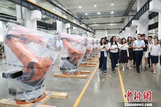 珠江西岸先进装备制造业迅猛崛起 撬动高质量发展