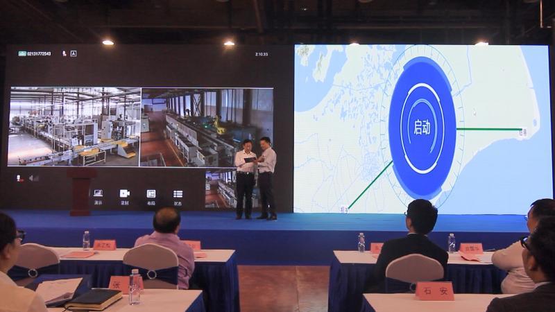 新能源汽车电驱动智能制造成套装备亮相临港新片区