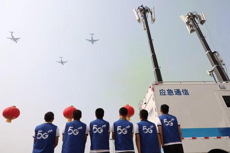 全球首次!中國移動完成國慶大典5G超高清視頻隨路直播