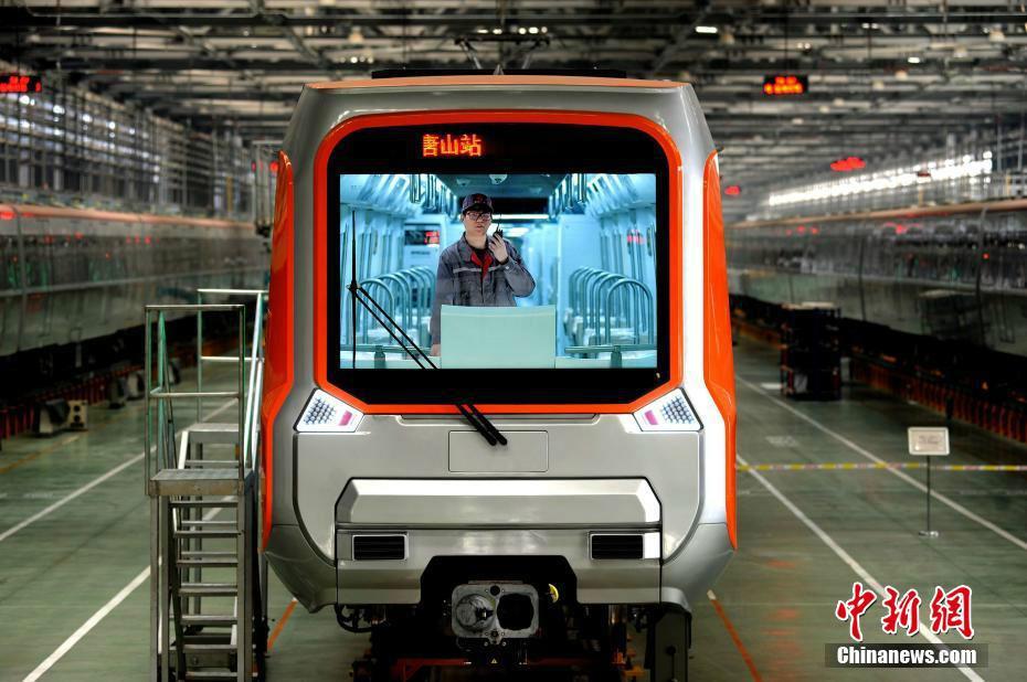 中國新一代智能B型地鐵通過無人駕駛測試