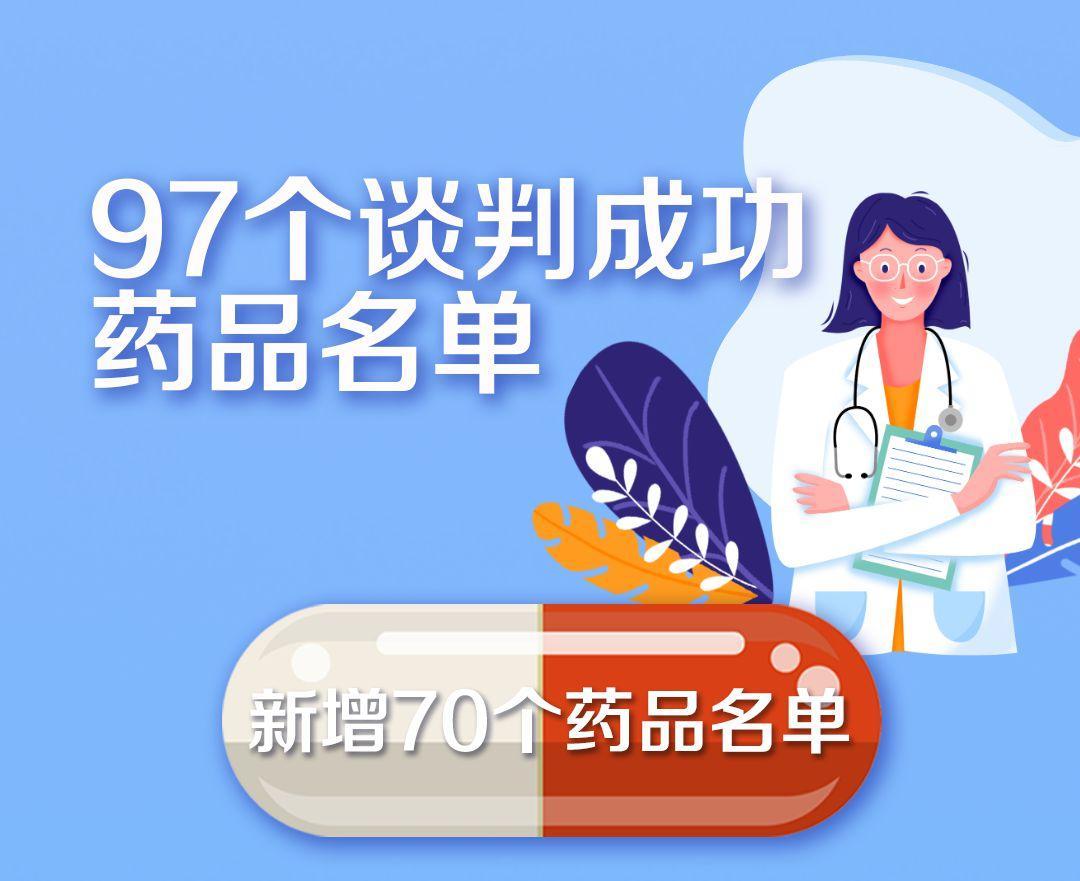 """国家医保药品新增70个 这批好药救命药都是""""平民价"""""""