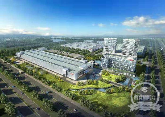 三一重工助力西安打造西部建筑智能制造新樞紐