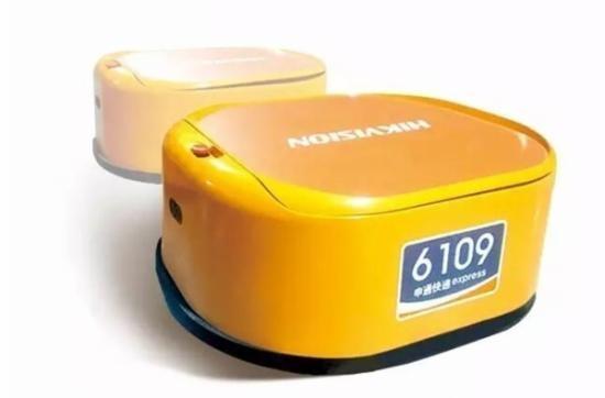 海康威视发布自动换电站:快递分拣机器人没法休息了