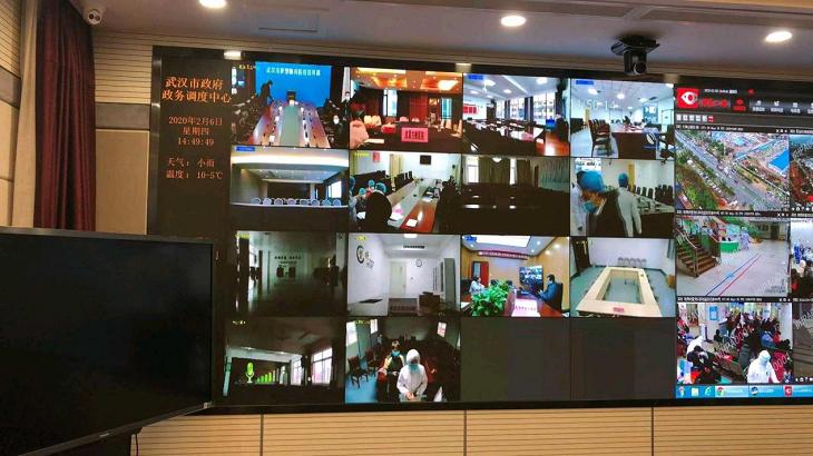 """馳援武漢 中興通訊視頻會議系統24小時內架起溝通的""""橋梁"""""""