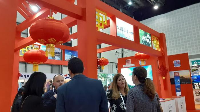 中国展台亮相以色列国际地中海旅游展