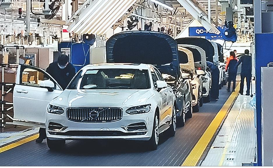 大慶沃爾沃汽車產能全面恢復
