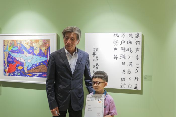 央美為孩子們辦了一場展覽 展出180幅作品